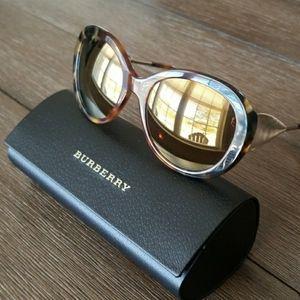 NEW Burberry Havana Tortoise Sunglasses